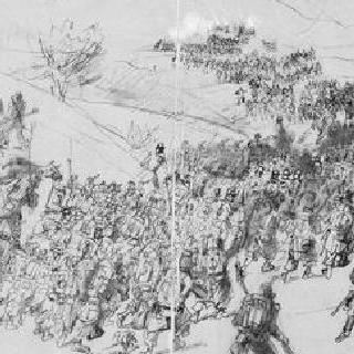 1859년 6월 24일 솔페리노 고지의 공격
