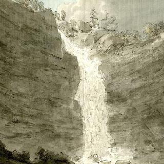 라이헨바흐 위의 세 번째 정경 : 라이헨바흐 폭포