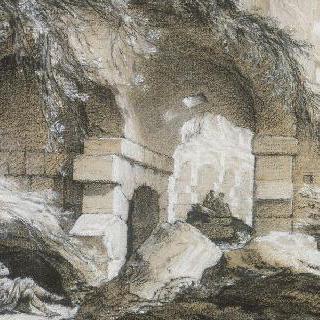 콜로세움의 내부 광경