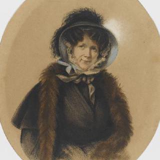 모자를 쓴 여인의 초상