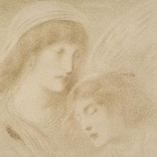 꿈의 신에게 대지로 내려오기를 간청하는 밤의 여신 : 두 여인의 얼굴