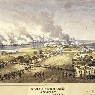 킨번 전투, 1855년 10월 17일