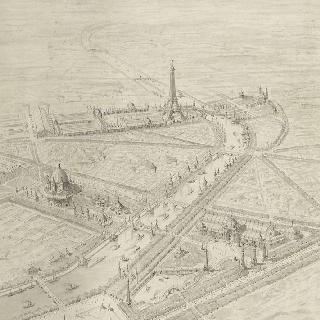 1900년 세계 박람회 : 전체 계획안