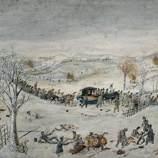 베레지나에서 니에멘까지 나 있는 모스크바 길을 둘러보기, 1812
