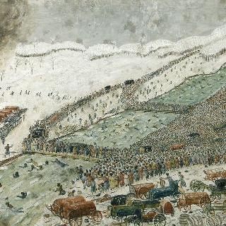 1812년 11월 28일, 프랑스 군대의 베레시나 통과