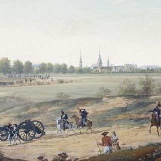 1805년 독일 원정대 동안의 프랑스 군대의 도시 입성