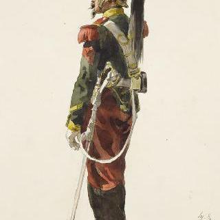 용기병들, 정복을 입은 제 6연대