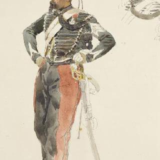 1854년 병사들, 정복을 입은 하사관