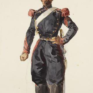포병대, 작업복을 입은 운전수
