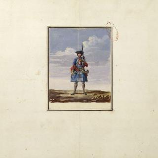 프랑스 수비병