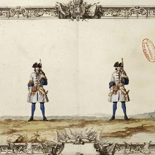 루아 연대의 부사관과 병사