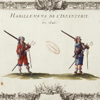 1646년의 보병대 의복