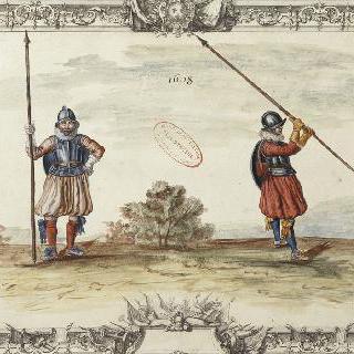 보병대 의복 : 1608년 의복