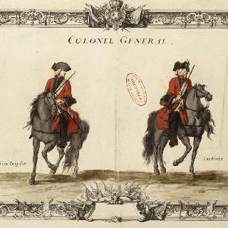경기병대의 총주임 대령 : 상등병과 기병총기병