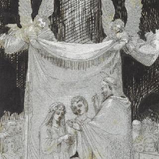 카타콤베에서의 첫번째 기독교인들의 결혼