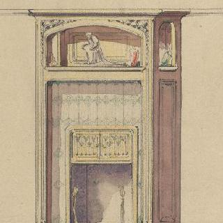 우엘 주택 (룬빌, 뫼르트에모젤) : 벽난로 계획안