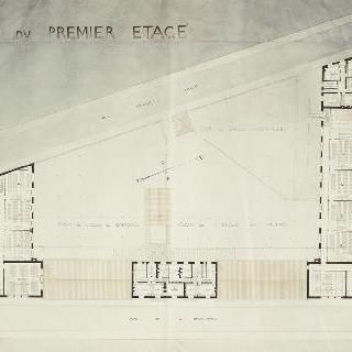 초등학교 계획안 : 2층 도면