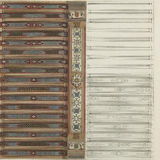 소묭 쉬르 루아르 성 (루아르 에 쉐르) : 프랑스식 천장