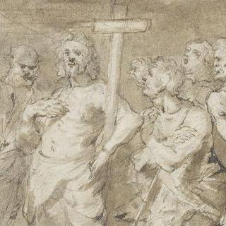 헤롯 대왕앞에 나타난 세례 요한 ()