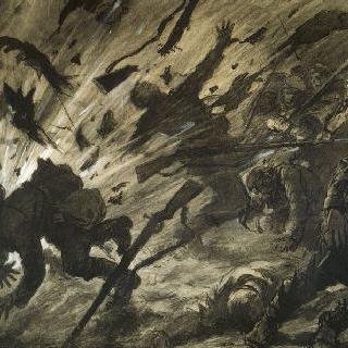 1915년 4월의 야간 포격
