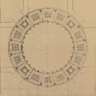 격자 원형 천장의 계획안