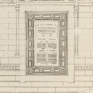 쇠로 된 은행 게시판의 모형