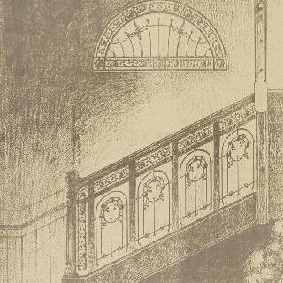 천창의 모형, 계단과 계단곬