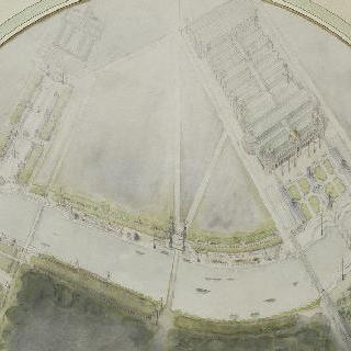1900년 만국 박람회에 대한 계획안 : 박람회 전경