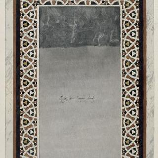 카이로의 들로르 드 글레옹 가옥, 석고 모자이크의 내장 공사