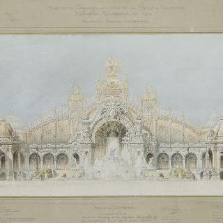 1900년 세계 박람회, 전기궁전, 물의 성과 기계 궁전