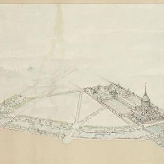 1900년 세계 박람회 계획안, 전경