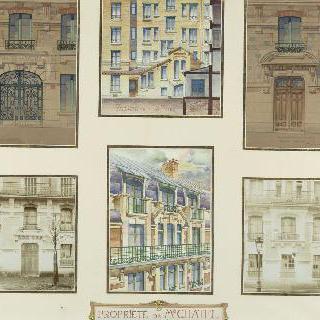 샤텔의 소유지 (파리, 크리메 거리 207번지)