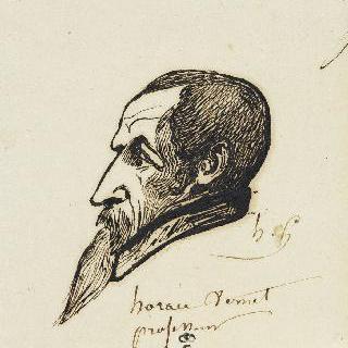 오라스 베르네의 희화화된 초상
