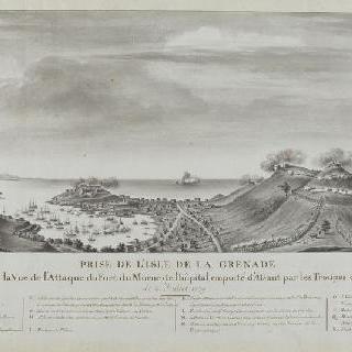 1779년 7월 이슬 드 그르나드의 점령