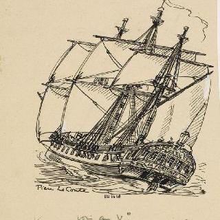 전함 : 운이 좋은 사람, 1779년