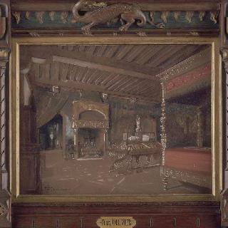 클루니 박물관의 프랑수아 1세의 침실 전경