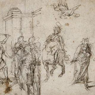 어느 성자의 참수, 감옥에 갇힌 성 베드로