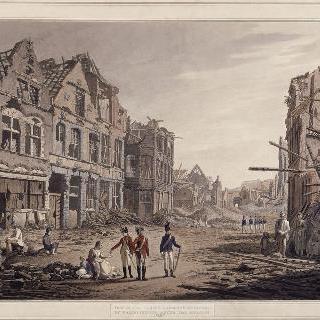 1793년 공략 다음날의 발랑시엔의 몽스 대문