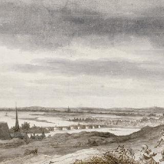 소뮈르의 루아르 강의 골짜기
