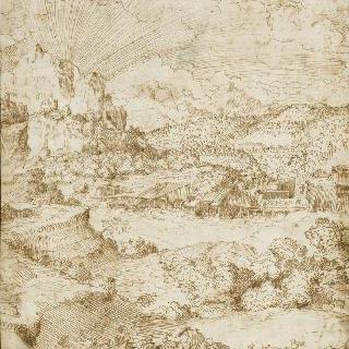 석양이 지는 풍경