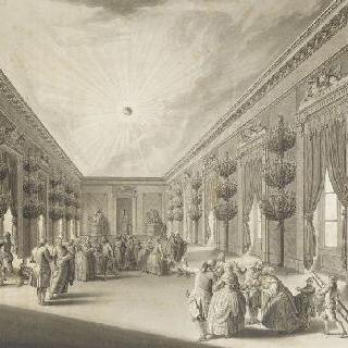 디종의 왕궁의 홀