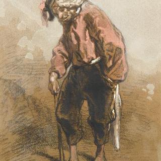 축제의 상이군인, 1854년