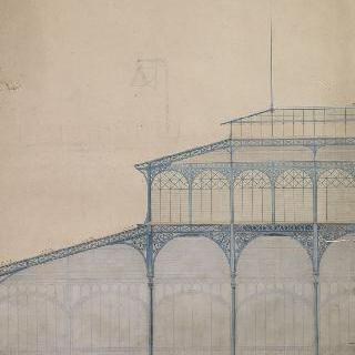 파리의 중앙 시장 건설 계획안