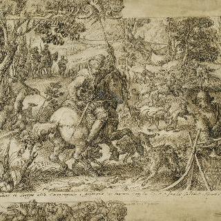 늑대 사냥, 타리스리용 밑그림