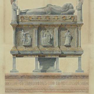 카르 석관, 마시모 2세 델라 스칼라의 묘 (베론)