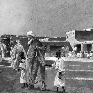 마라케크의 노예 시장