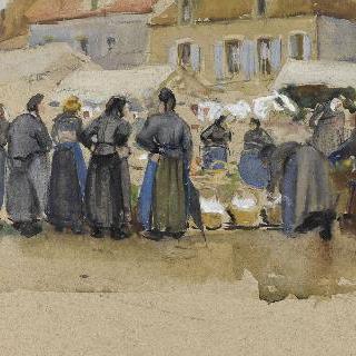 에탕프의 시장