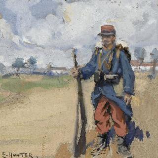 1차 세계 대전 당시의 프랑스 군인