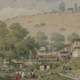 부나르 바쉬와 브루스의 올림푸스 신전 정상 이미지