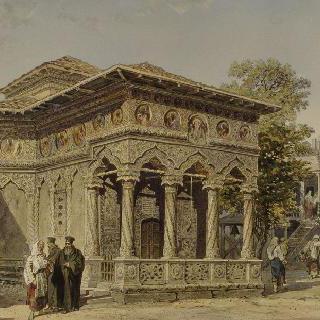 1868년 부카레스트 스타브로폴레오스 성당